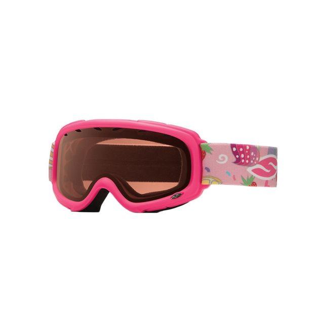 Smith Zoom JR Casque de Ski Unisexe pour Enfant Rouge Taille S 48-53
