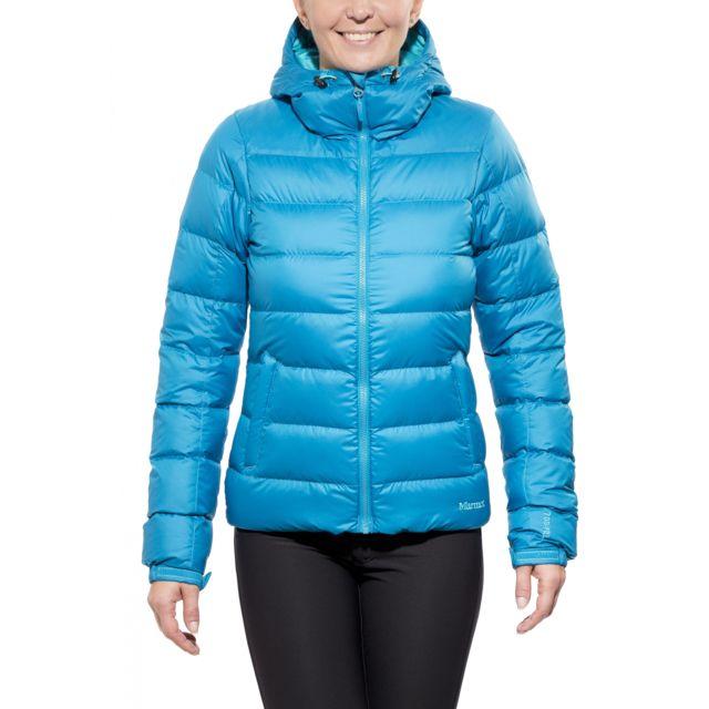 Doudoune Pas Guides Marmot DownHoody Femme Bleu yNn0Ov8mwP