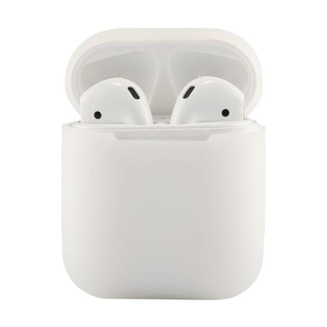 wewoo etui casque ecouteurs transparent pour apple airpods portable sans fil bluetooth. Black Bedroom Furniture Sets. Home Design Ideas