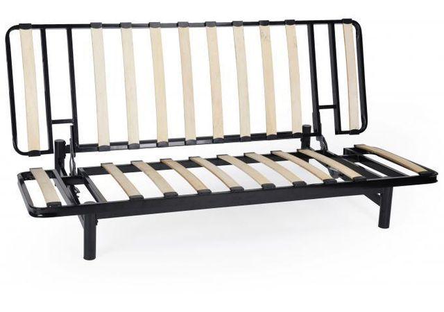 declikdeco banquette clic clac m tal noir structure seule minus achat vente canap s pas. Black Bedroom Furniture Sets. Home Design Ideas