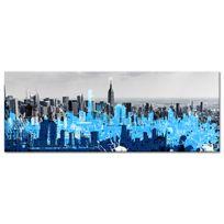 Declina - Toile panoramique photo de New York graphique - Décoration murale