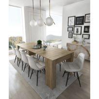 Delightful Comfort   Home Innovation   Table Console Extensible, Rectangulaire Avec  Allonges, Jusquu0027à