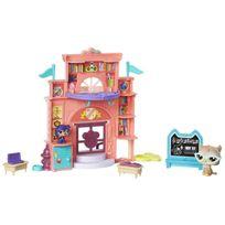 Hasbro - Figurines Littlest PetShop : Belle journée à l'école