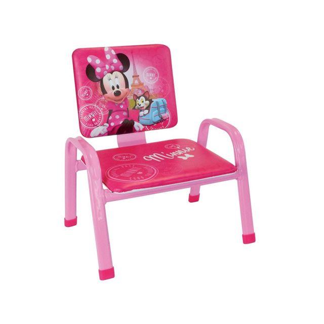 Disney Mouse Minnie Chaise Premier Decofun Fauteuil Rose Mon Pas tshCrdQx
