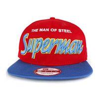 New Era - Casquette Snapback Superman Reverse Hero Rouge
