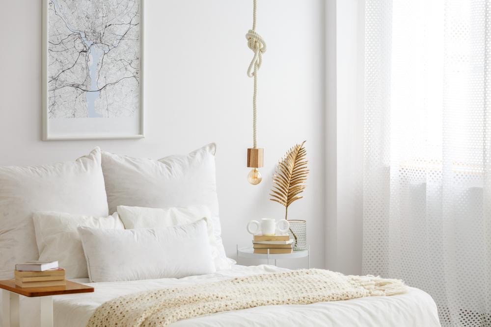 chambre linge de lit