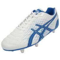 Asics - Chaussures football vissées Jet foot-rugby blc visse Blanc 35485