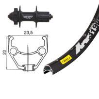 Bike-Parts - Roue arrière - Roue - 26 x 1.90, Shimano Deore Xt, 8/9 vitesses noir