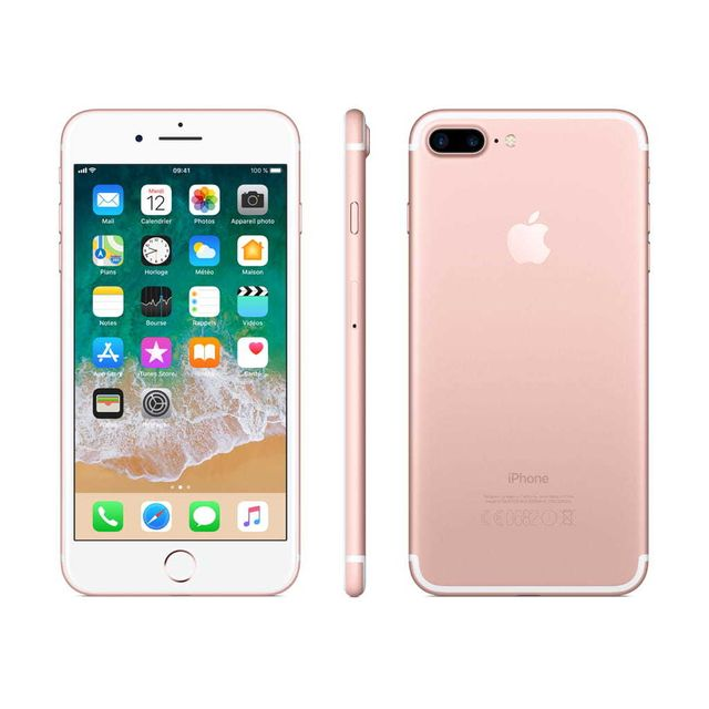 apple iphone 7 plus 32 go mnqq2zd a or rose pas cher achat vente iphone ios. Black Bedroom Furniture Sets. Home Design Ideas