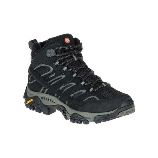 tex Gore marche noir Chaussures 2 de Mid femme Moab H9IDE2
