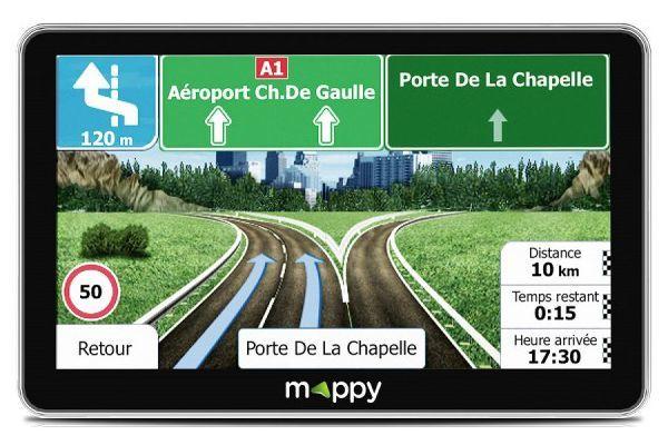 MAPPY Gps Mappy Maxi E738 - MAPPY_MAXI_X738 - Gris