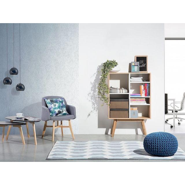 Beliani Commode - étagère - meuble de rangement - blanc - Wrangell