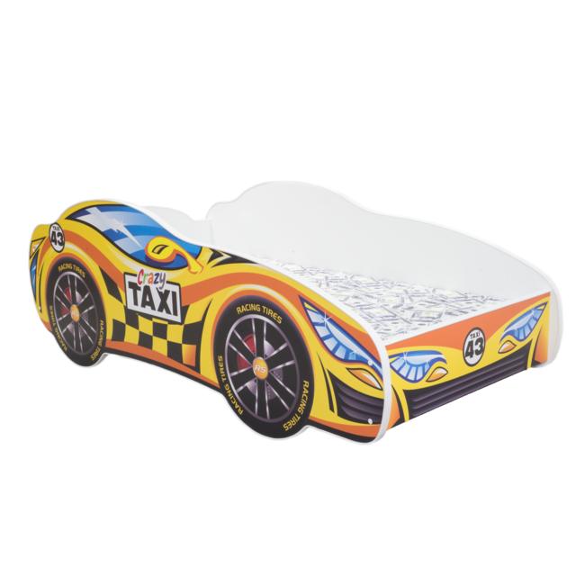 Other Lit pour un enfant - Racing Car - Taxi MATELAS Gratuit 140 x 70 cm