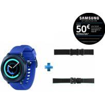 Gear Sport Bleu nuit + Bracelet pour Montre Gear Sport + Bracelet pour Montre Gear Sport