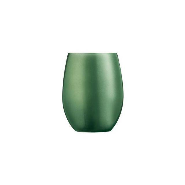 Chef & Sommelier Gobelet forme haute - verre à eau 36cl krysta vert - Lot de 6 - Primarific