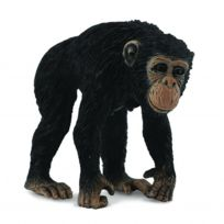 Figurines Collecta - Figurine Singe : Chimpanzé : Femelle
