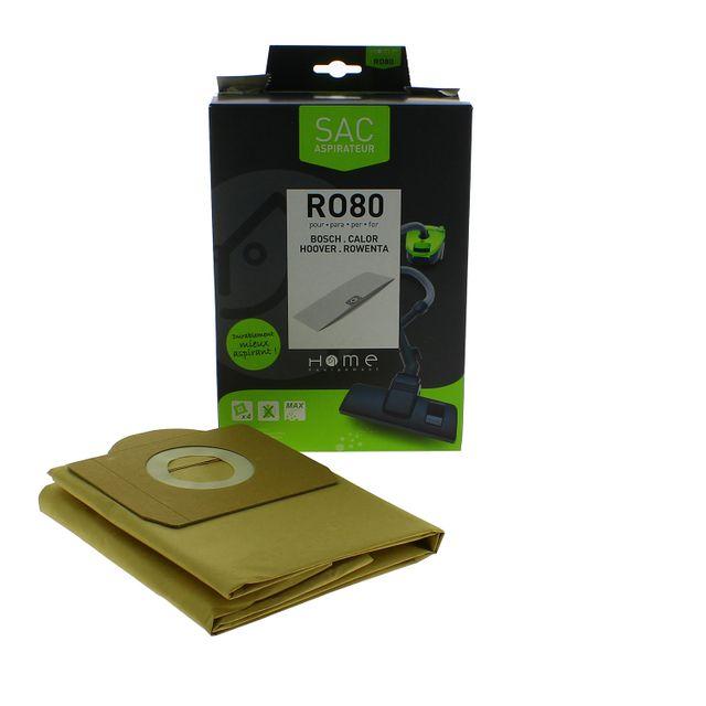 Home Equipement - Sac papier pour Aspirateur, x4