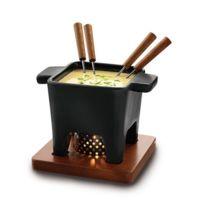 BOSKA - service à fondue 4 fourchettes noir - 853529