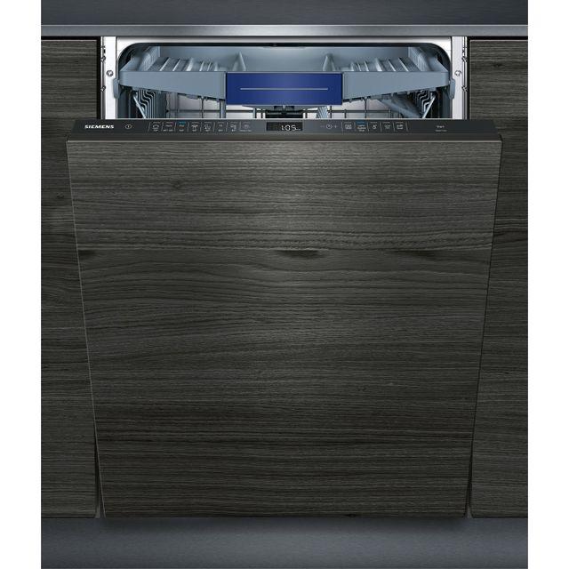 SIEMENS lave-vaisselle 60cm 14 couverts a++ tout intégrable grande hauteur - sx658d02me
