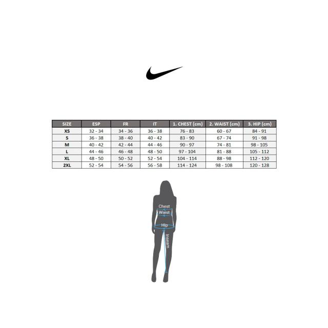 Nike Maillot à bretelles Pro Cool Tank jaune fluo femme