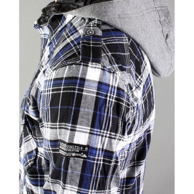 Ecko - Surchemise Unltd Dtf Jacket Bleu