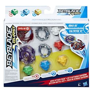 hasbro beyblade burst pack de 2 toupies beyblade performance c3401 pas cher achat. Black Bedroom Furniture Sets. Home Design Ideas