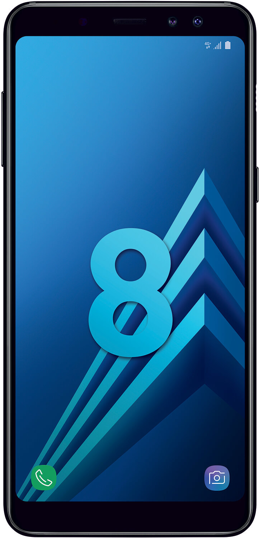 Galaxy A8 - Noir Carbone