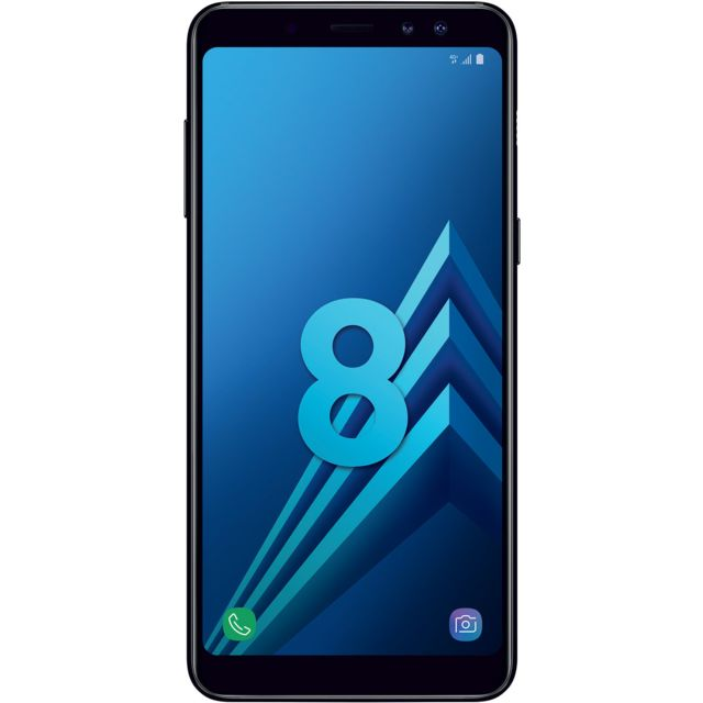 Samsung - Galaxy A8 - Noir Carbone
