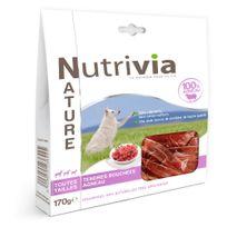Nutrivia - Nature - Friandises en Bouchées à l'Agneau pour Chien - 170g