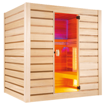 Poolstar - Sauna Hybride Combi 4 places