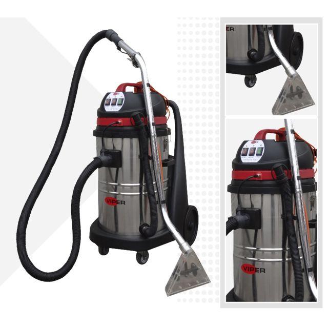 viper cleaning injecteur extracteur 75l nettoyeur de moquette professionnel 2000w car 275. Black Bedroom Furniture Sets. Home Design Ideas