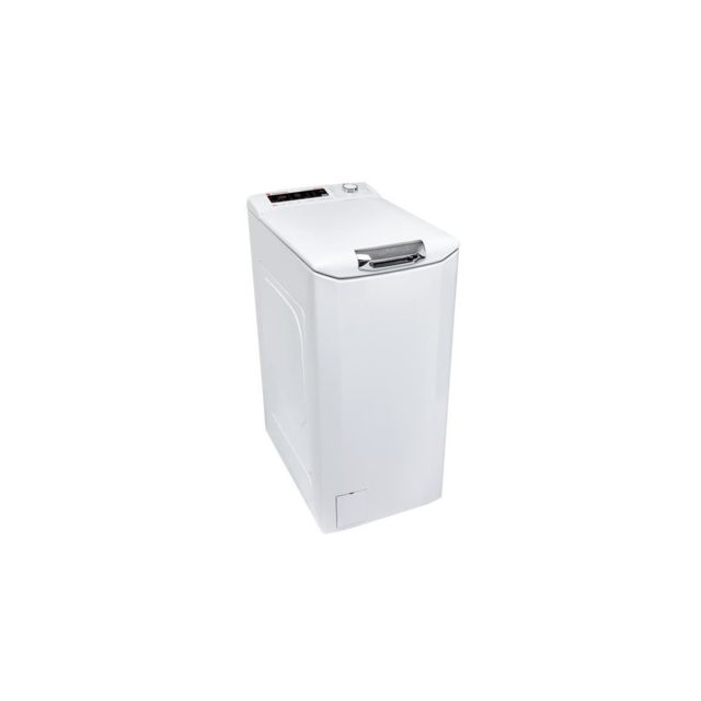 Hoover Hnflss684tah-s - Lave-linge Top - 8 Kg - 1400 Trs/min - A+++ - Blanc - Moteur Induction