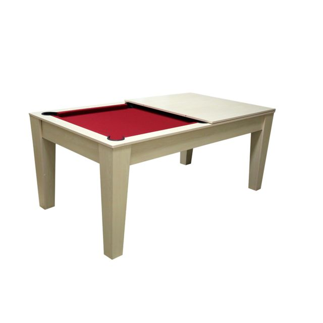 cortes games table de billard convertible tapis rouge pas cher achat vente tables de