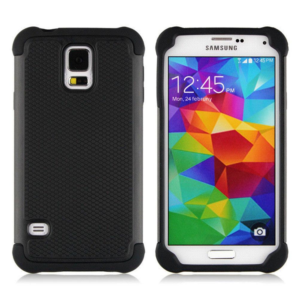 Lapinette - Coque Anti Choc Pour Samsung Galaxy S6 Edge - Noir