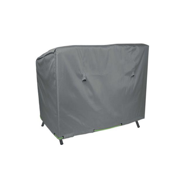 oviala housse de protection pour balancelle gris pas cher achat vente fauteuil de jardin. Black Bedroom Furniture Sets. Home Design Ideas