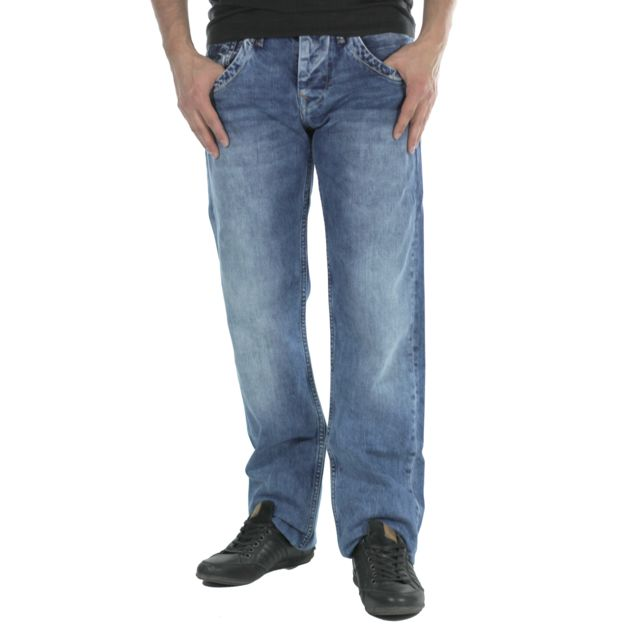 Pepe Jeans - Jeans homme Tooting N644 - pas cher Achat   Vente Jeans ... 547ecf268e2b