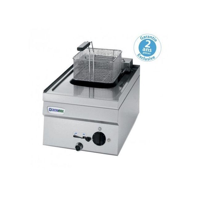 Materiel Chr Pro Friteuse électrique à poser - 8 litres - gamme 600 - monophasé - Tecnoinox - 600