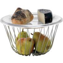 Alessi - A Tempo Corbeille à Fruits avec Plateau