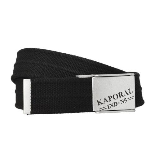 66333d2cb32 Kaporal 5 - Dora Ceinture Kaporal Noir - pas cher Achat   Vente ...