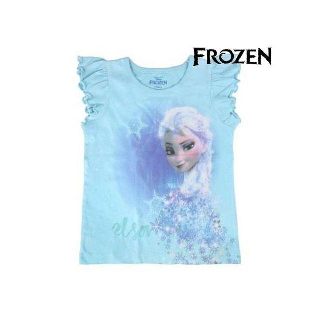 1ee4b50ed03b3 Marque Generique - T shirt à manches courtes Enfant Frozen 8651 taille 5 ans  - pas cher Achat / Vente Chemises de nuit, nuisettes - RueDuCommerce