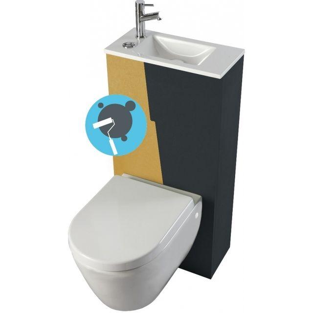 toilette encastrable toilette encastrable with toilette encastrable wc suspendu le top des. Black Bedroom Furniture Sets. Home Design Ideas