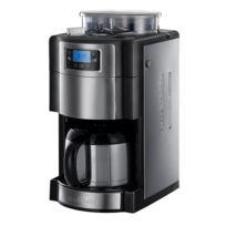 RUSSELL HOBBS - cafetière isotherme avec broyeur intégré programmable 10 tasses 1000w - 21430-56