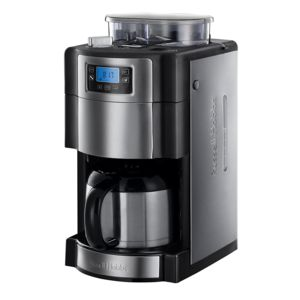 russell hobbs cafeti re isotherme avec broyeur int gr programmable 10 tasses 1000w 21430 56. Black Bedroom Furniture Sets. Home Design Ideas