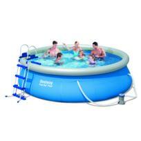 Design et Prix - Magnifique Kit piscine autoportante BestWay Fast Set Pool 366 x 91cm