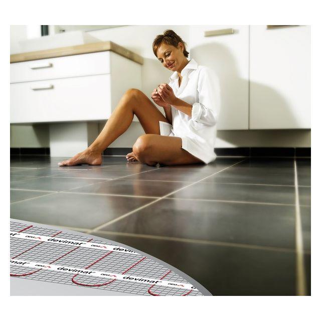 autre del age plancher chauffant lectrique devimat 7 6m2 650w pas cher achat vente. Black Bedroom Furniture Sets. Home Design Ideas
