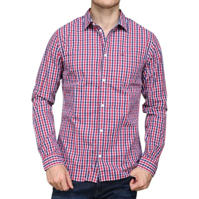 TOMMY HILFIGER Chemise à carreaux Chemises D | YOOX.COM