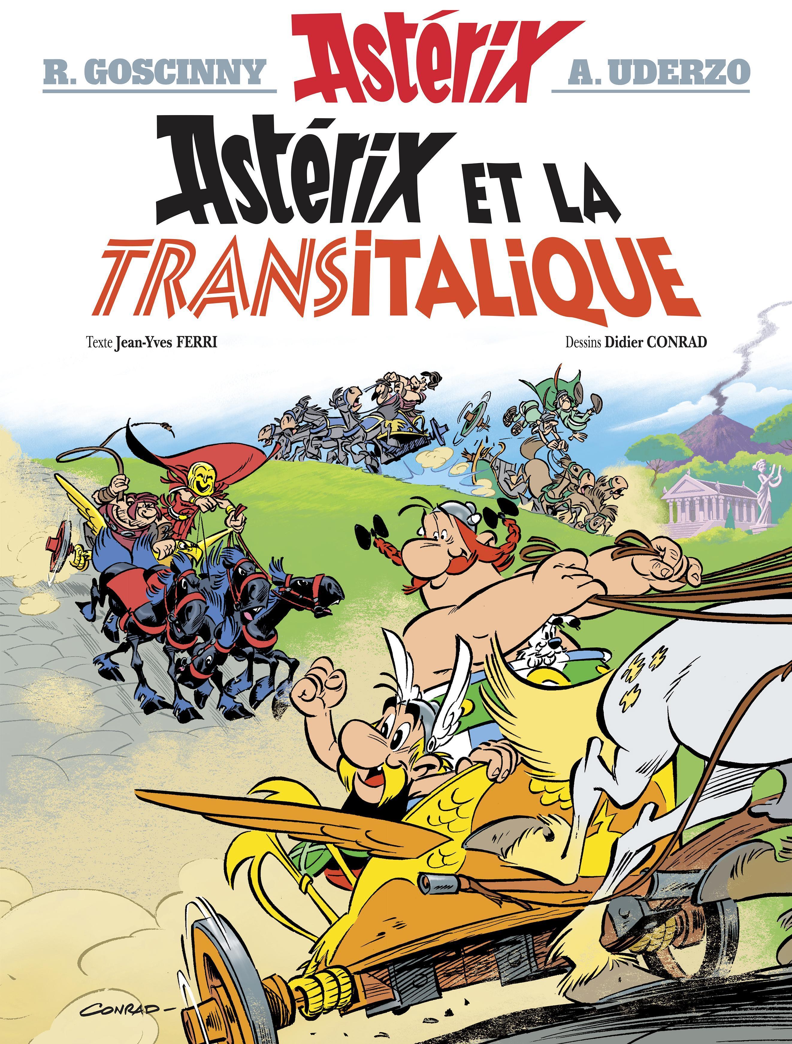Astérix tome 37 ; Astérix et la Transitalique