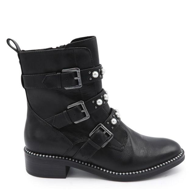 Boots Boucles Clou Noir Et Cher Pas Achat Tamaris Vente 3 qVGpSzMU