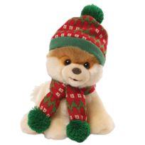 Gund - Peluche Chien Boo modèle Fête de Noël 22 cm