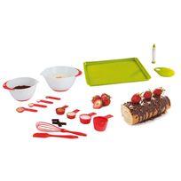 Kitchen Artist - Set 12 accessoires pâtisserie - Men345 + Set pour gâteaux roulés et bûches - Men297